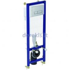 Potinkinis rėmas su chromuotu mygtuku Ideal Standard W3710AA 4 in 1