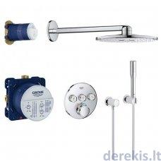 Potinkinis termostatinis dušo komplektas Grohe SmartControl 310, 34705000