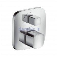 Potinkinis termostatinis maišytuvas, 1 krypties išbėgimas (chromo sp.) Hansgrohe PuraVida, 15775000