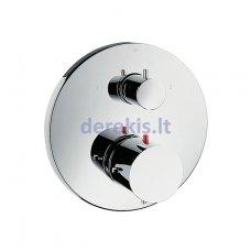 Potinkinis termostatinis maišytuvas, 2 krypčių išbėgimas Hansgrohe AXOR Starck, 10720000