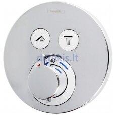 Potinkinis termostatinis maišytuvas Hansgrohe ShowerSelect S 15743000