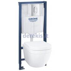 Potinkinis wc komplektas Grohe EuroCeramic Rimless 39536000