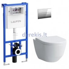 Potinkinis WC komplektas Laufen Pro New 2 20966-000000+96951-300000