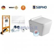 Potinkinis WC komplektas WERIT JOMO + Sapho Porto 174-91100900-00+PZ102R