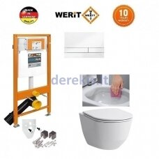 Potinkinis WC komplektas WERIT + Laufen Pro New 174-91100900-00+H8669570000001