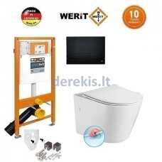 WERIT + Sapho Paco RIMLESS 174-91102500-00+PZ1012R