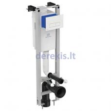 Potinkinis WC rėmas Ideal Standart, PROSYS ECO su mechaniniu klavišu, baltas, R0121AC, E2332AC