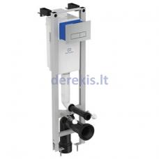 Potinkinis WC rėmas Ideal Standart, PROSYS ECO su mechaniniu klavišu, chromas, R0121AA, E2332AA