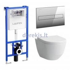 Potinkinis WC komplektas Laufen 20956-000000+ 93956-000000