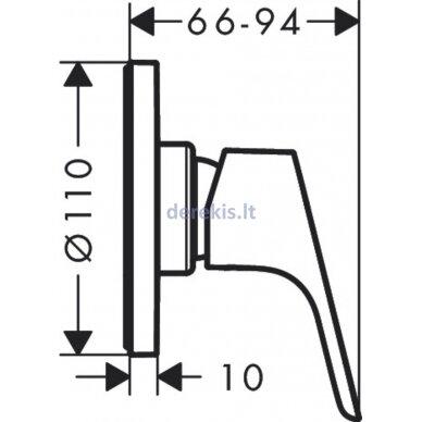 Potinkinis dušo maišytuvas Hansgrohe Focus 31961000 2