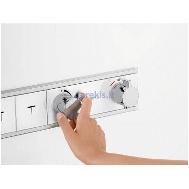 Potinkinis dušo termostatas Hansgrohe RainSelect 15357000 4