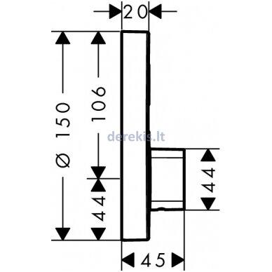 Potinkinis maišytuvas Hansgrohe ShowerSelect S 15747000 2