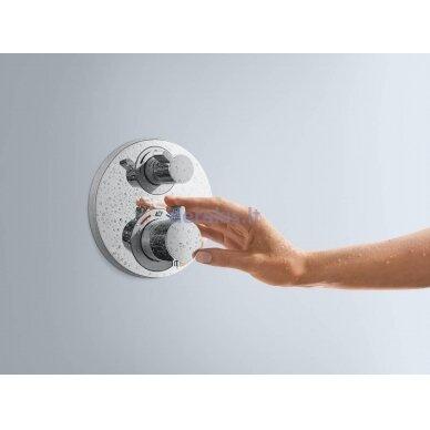 Potinkinis termostatinis maišytuvas Hansgrohe Ecostat S 15757000 2