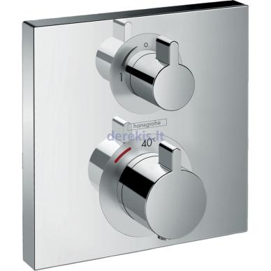 Potinkinis termostatinis maišytuvas Hansgrohe Ecostat Square 15712000