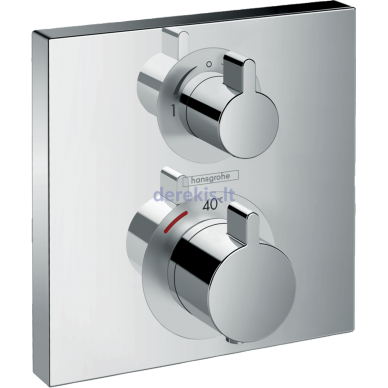 Potinkinis termostatinis maišytuvas Hansgrohe Ecostat Square 15714000