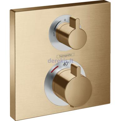 Potinkinis termostatinis maišytuvas Hansgrohe Ecostat Square 15714140