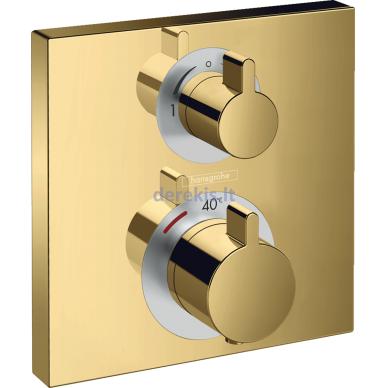 Potinkinis termostatinis maišytuvas Hansgrohe Ecostat Square 15714990