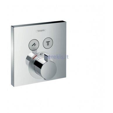 Potinkinis termostatinis maišytuvas Hansgrohe ShowerSelect 15763000