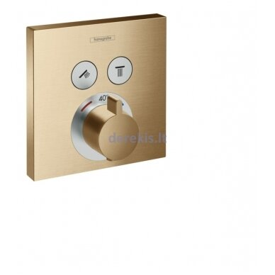 Potinkinis termostatinis maišytuvas Hansgrohe ShowerSelect 15763140