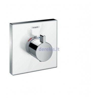 Potinkinis termostatinis maišytuvas Hansgrohe ShowerSelect Glass 15734400