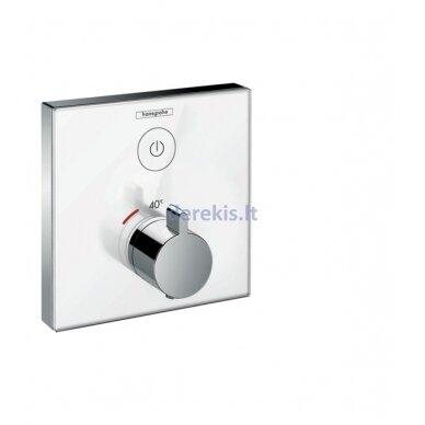 Potinkinis termostatinis maišytuvas Hansgrohe ShowerSelect Glass 15737400