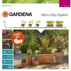 Pradinis rinkinys augalų vazonams Gardena M 13001-20, 967039401