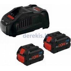 Bosch 2 x ProCORE18V 5.5Ah + GAL 1880 CV Professional, 1600A0214C