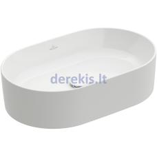Praustuvas Villeroy&Boch Collaro 4A1956RW (Stone White CeramicPlus) 56 cm