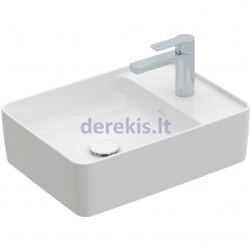 Praustuvas Villeroy&Boch Collaro 4A175101 (White Alpin) 51x38 cm