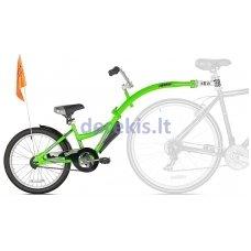 Prijungiamas dviratis WeeRide CO-PILOT Žalias