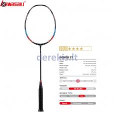 Profesionali badmintono raketė Kawasaki Honor S7 Blue 4U