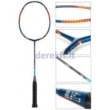 Profesionali badmintono raketė Kawasaki K9 Blue 3U
