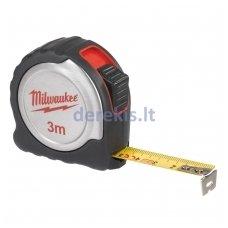 Profesionali matavimo juosta MILWAUKEE 4932451637, 3 m