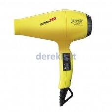 Profesionalus plaukų džiovintuvas su jonų technologija BaByliss PRO Luminoso Giallo BAB6350IYE