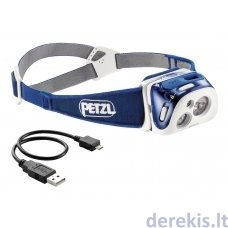 Prožektorius ant galvos Petzl REACTIK 220LM (spalvą galima pasirinkti)