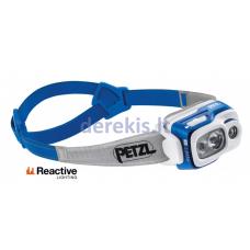 Prožektorius ant galvos Petzl SWIFT RL, mėlynas