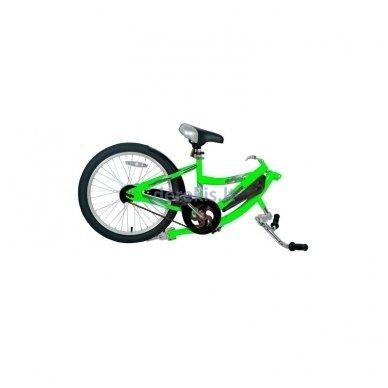 Prijungiamas dviratis WeeRide CO-PILOT Žalias 5