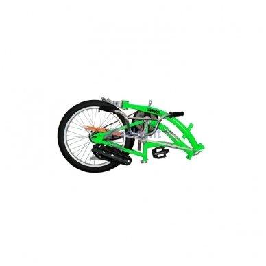 Prijungiamas dviratis WeeRide CO-PILOT Žalias 6