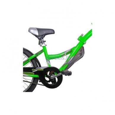 Prijungiamas dviratis WeeRide CO-PILOT Žalias 7