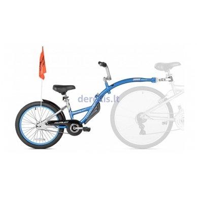Prijungiamas dviratis WeeRide PRO-PILOT Mėlynas
