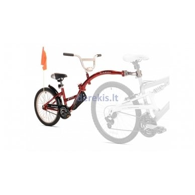 Prijungiamas dviratis WeeRide PRO-PILOT Raudonas 2