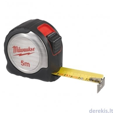 Profesionali matavimo juosta MILWAUKEE 4932451639, 5 m