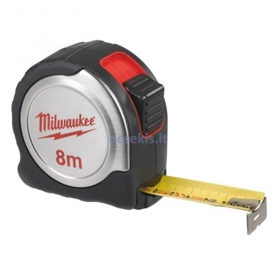 Profesionali matavimo juosta MILWAUKEE 4932451640, 8 m