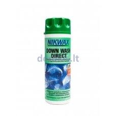 Pūkinių drabužių/miegmaišių skalbiklis Nikwax DOWN WASH DIRECT 300 ml