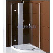 Pusapvalė dušo kabina Gelco Legro 90x90x190cm R55