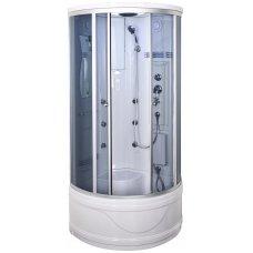 Pusapvalė masažinė dušo kabina Duschy 6007
