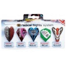 Strėlyčių sparnelių Rinkinys Radical Flights System