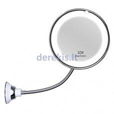 Reguliuojamas kosmetinis LED veidrodis
