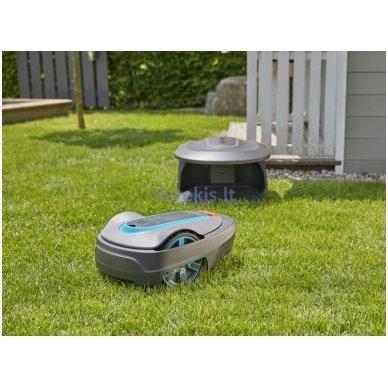 Roboto vejapjovės garažas Gardena 15020-20 5