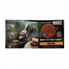 """Rūkymo briketai """"Mojobricks Minis"""", Red Oak"""